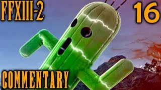 Final Fantasy XIII-2 Walkthrough Part 16 - Gigantuar Boss Battle (Archylte Steppe ???)