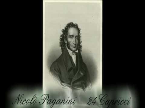 Nicolò PAGANINI - Capriccio  n°5 - 24 Capricci - Violino: Shlomo Mintz