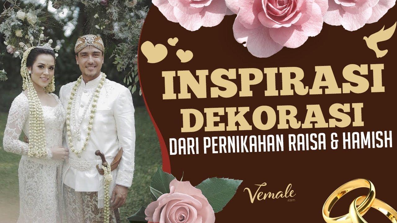 Modern Rustic Inspirasi Dekor Romantis Dari Pernikahan Raisa Hamish
