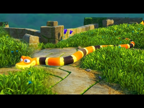 SLITHER.IO In 3D! (Snake Pass)