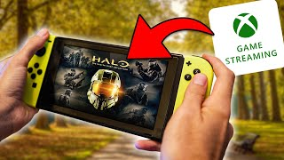 Así es XBOX GAME STREAMING (Xcloud) en Nintendo Switch 😳 Usando ANDROID - Vale la pena? 🤔