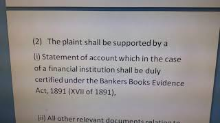 SECTION 9(1) & SECTION 9(2) FINANCIAL INSTITUTION RECOVERY OF FINANCE ORDINANCE 2001