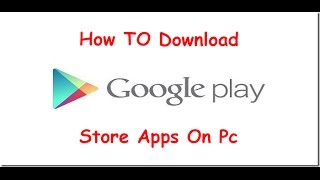 Gambar cover How To Download Google Play Store Apps On Pc (Bangla Tutorial)