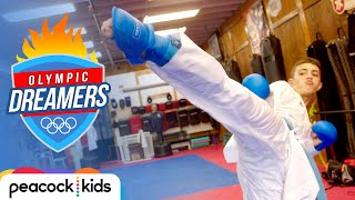 Teen Karate Champion Kicks the Competition! | OLYMPIC DREAMERS