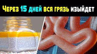 ПРОЩАЙТЕ, ЖИР И ТОКСИНЫ! Как за 15 дней очистить кишечник и похудеть с помощью семян чиа и ананаса