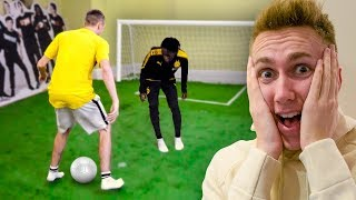 Download I put a FOOTBALL PITCH in the SIDEMEN HOUSE Mp3 and Videos