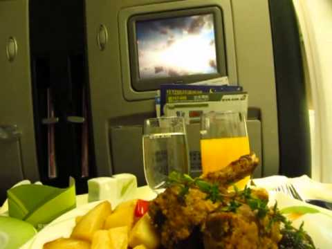 Fly Elite & Business Class on Eva Air to Vancouver via Taipei Boeing 777 747 - Phil in Bangkok