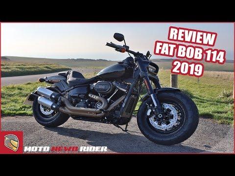2019 Fat Bob 114 ci Review - Harley Davidson
