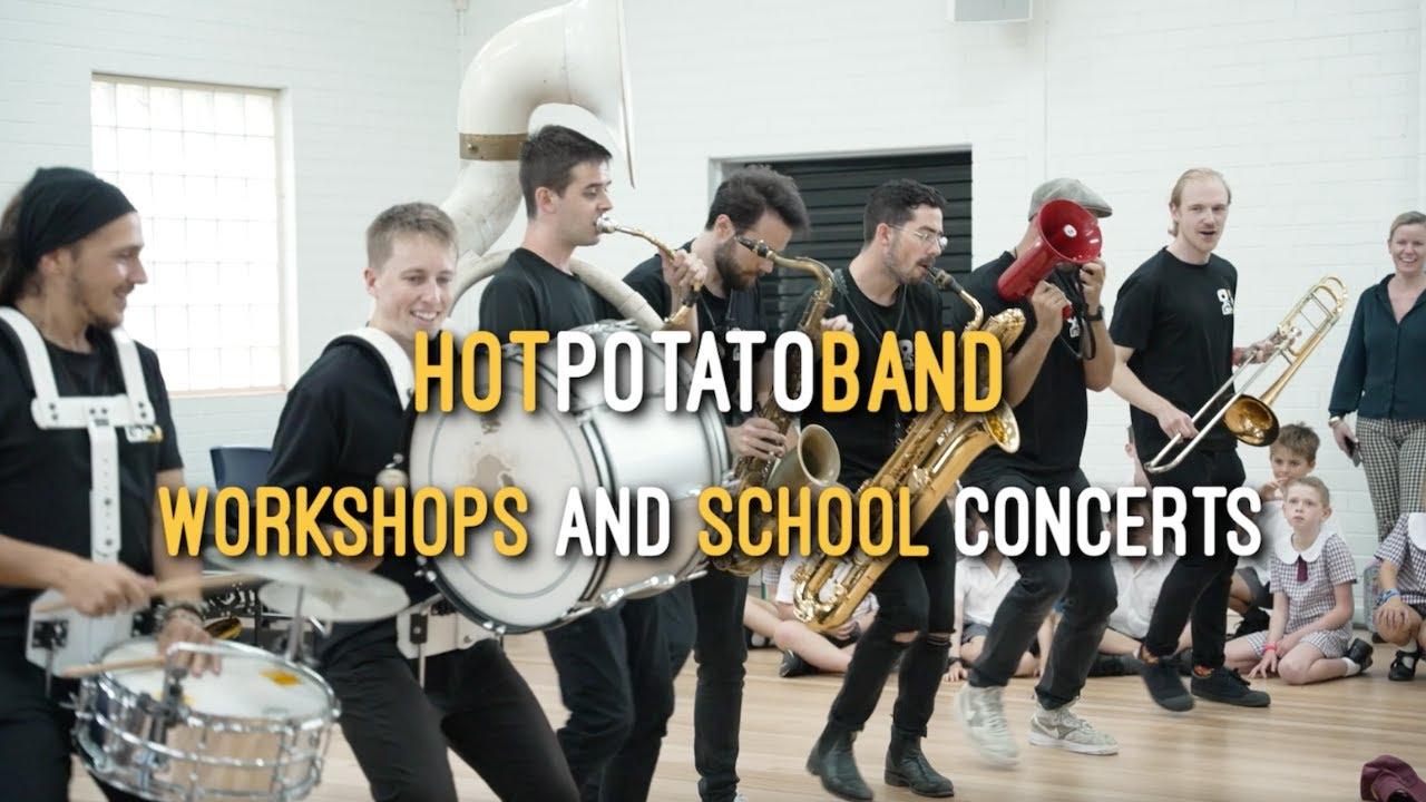 Hot Potato Band - School Workshops & Concerts