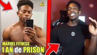 MARVEL FITNESS 1 AN de PRISON a CAUSE de ALINE ! (EXCLU)