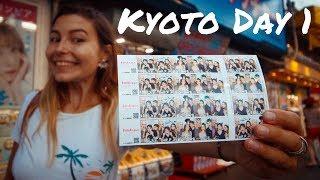 Exploring Kyoto & Trying Japanese PURIKURA Machines!!