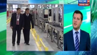 Открытие нового завода «Интерскол-Алабуга». Видео ТВ-канала