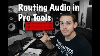Routing Audio in Pro Tools - Plus Free Template Download