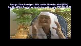 Kalimerhaba Side Belgeseli (Giritliler) 3. Bölüm