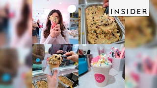 A cookie dough shop opened in NYC and people are losing it