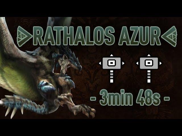 RATHALOS AZUR en Arène - 3'48''68 (avec Kronos)
