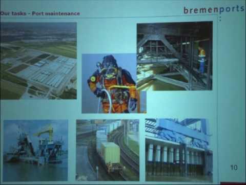 AES 2013 - Ernst Schröder, Chief Engineer, Bremenports