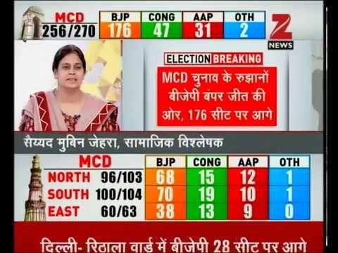 MCD Election Results 2017  BJP headed for landslide win in Delhi ... 0eca82b1859