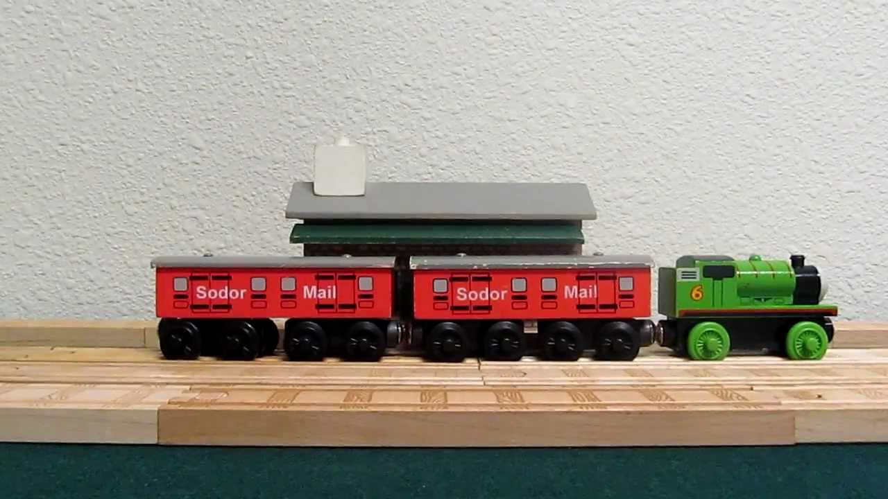 Thomas Wooden Railway 1996 Sodor Mail Coach Review
