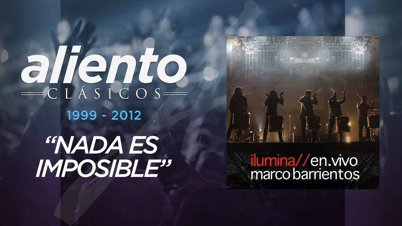 Marco Barrientos - Ilumina En Vivo - \