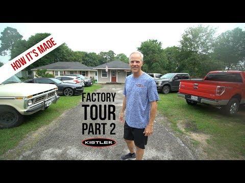 How It's Made - Kistler Rods Factory Tour Part 2