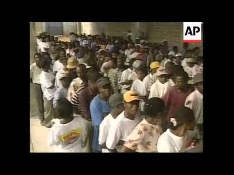HAITI: GOVERNMENT ELECTIONS WRAP