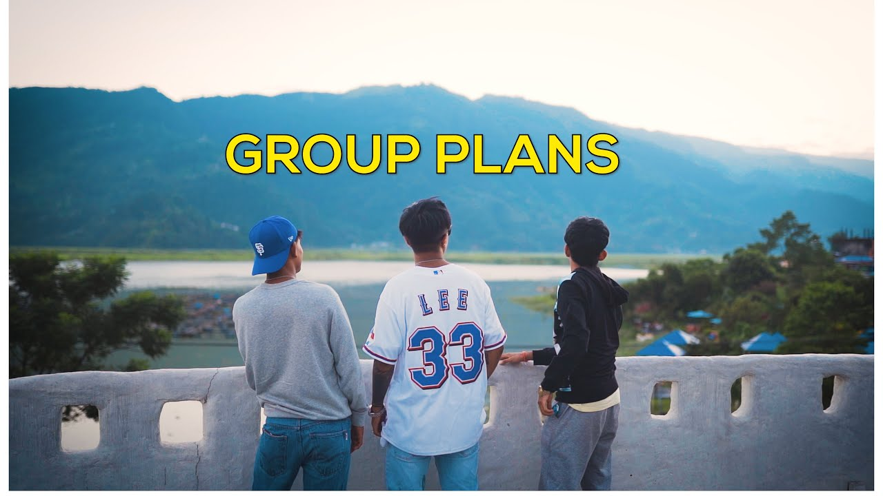 GROUP PLANS   Ming Sherap