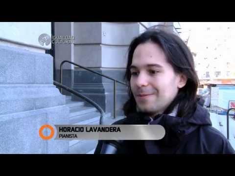 Horacio Lavandera y Alberto Rojo en el Centro Cultural Néstor Kirchner