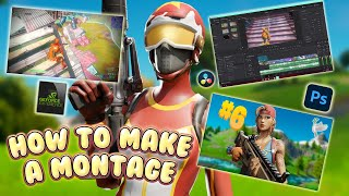 How to Make aฑ *INSANE* Fortnite Montage! - (Clipping Software, Editing Tutorial, Thumbnail, Etc.)