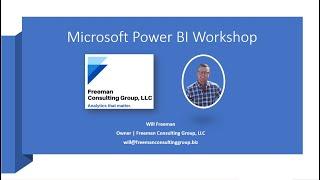 Microsoft Power BI Webinar