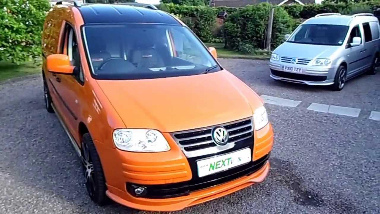 99673650f0 VW Caddy Maxi Sportline Custom Unique Van - YouTube