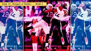 Chargers vs. Raiders Week 6 highlights (#12 game in 2014)