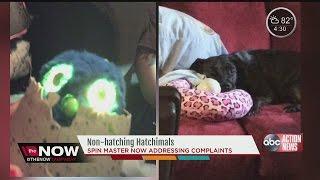 Defective Hatchimals leave kids, parents upset