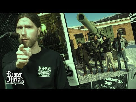 Top Finnish Metal Bands, Drunk Priests & Monster Creations - GRAVE VIOLATOR Interview