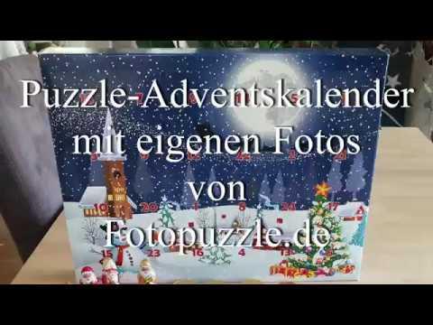 Puzzle Adventskalender Mit Eigenen Fotos Selber Machen Mit