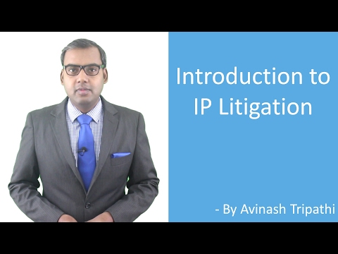 Lecture on Introduction to IP Litigation