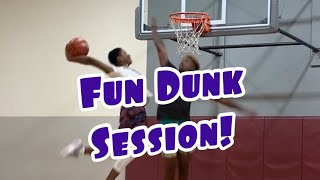 Dunking In LA With Tyler Currie and Elijah Bonds Video