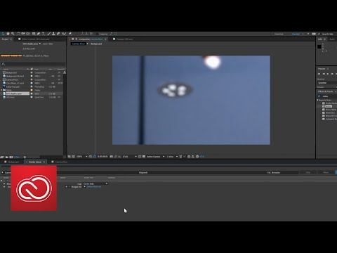 How To Add Special Effects To Video With After Effects PART 2 | Adobe Creative Cloud