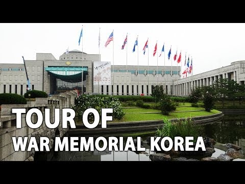 Korean War Memorial Museum in Seoul - 전쟁기념관