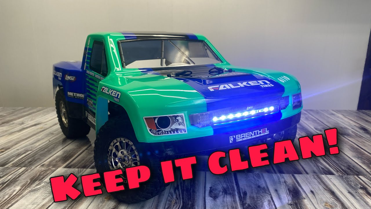 How to Clean and Maintain Your RC Vehicle.