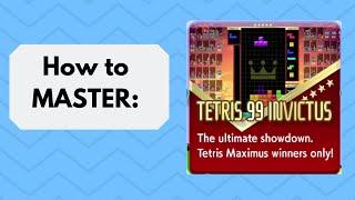 How to MASTER Invictus Mode - Tetris 99