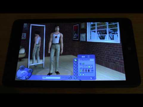 1 the sims 2 pc test on new tablet pc lenovo thinkpad 8. Black Bedroom Furniture Sets. Home Design Ideas