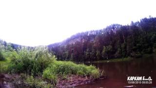 Рыбалка на голавля на реке Ай в Челябинской области