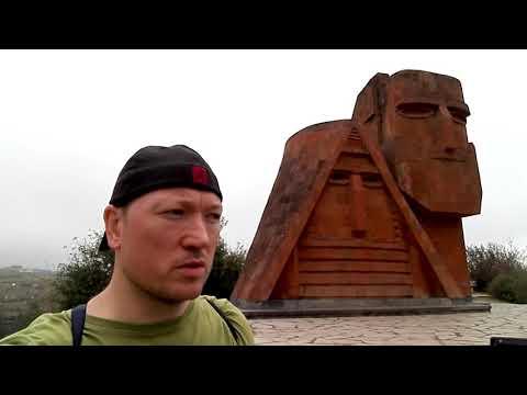 Tatik Papik Monument In Stepanakert Nagorno Karabakh (Artsakh) Sept 2018
