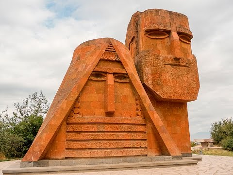 A trip to Nagorno Karabakh! Another Country that doesn't exist.