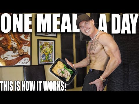THE ONE MEAL A DAY DIET | Extreme Fasting For Fat Loss | OMAD 23 Hour Fasting Protocol