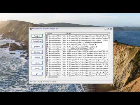 Fix, Clean And Repair Windows 10/8/7 Registry [Tutorial]