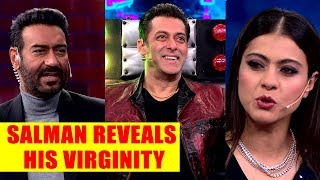 Bigg Boss 13 Update: Salman Khan reveals about his virginity status in front of Kajal and Ajay Devgn