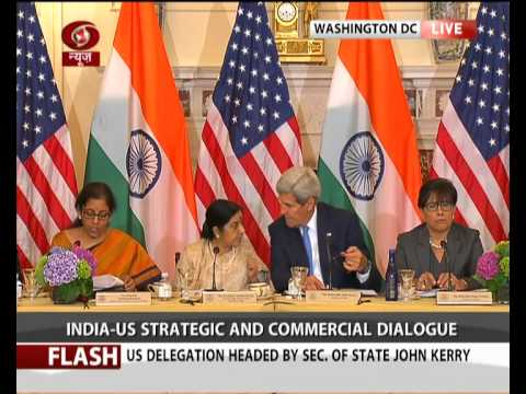 India-US Strategic & Commercial Dialogue