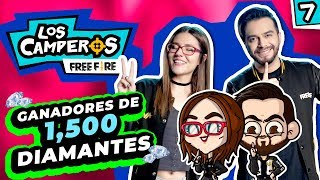 💎¡Más ganadores de 1500 DIAMANTES!💎- Los Camperos #7
